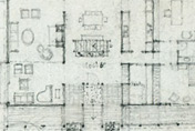 Design sketch of plan