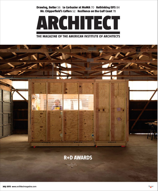 Mankouche bard and schulte win first prize and sirota for D architecture magazine