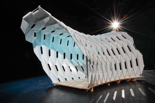 "Thesis Students Present ""Great White"" Installation at ACSA"