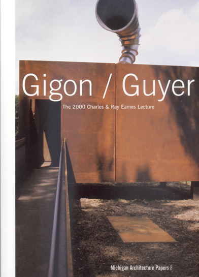 Gigon / Guyer - Charles & Ray Eames Lecture - MAP 8