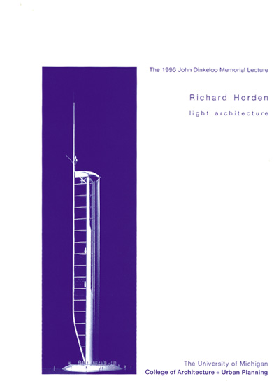 Richard Horden - Light Architecture - Dinkeloo Lecture