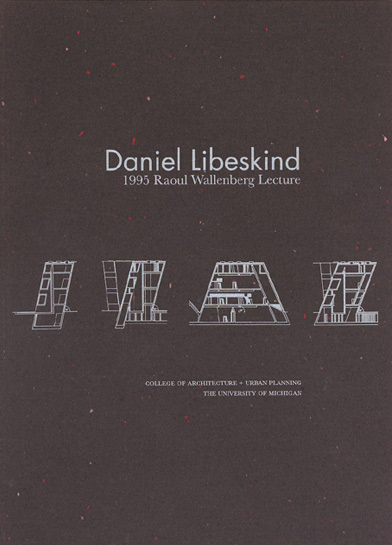 Daniel Libeskind - Traces of the Unborn - Wallenberg Lecture
