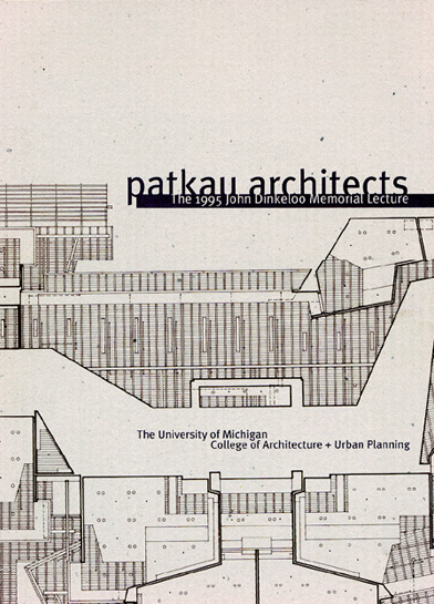 Patkau Architects - Investigations into the Particular - Dinkeloo Lecture