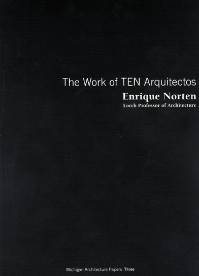 The work of Ten Arquitectos