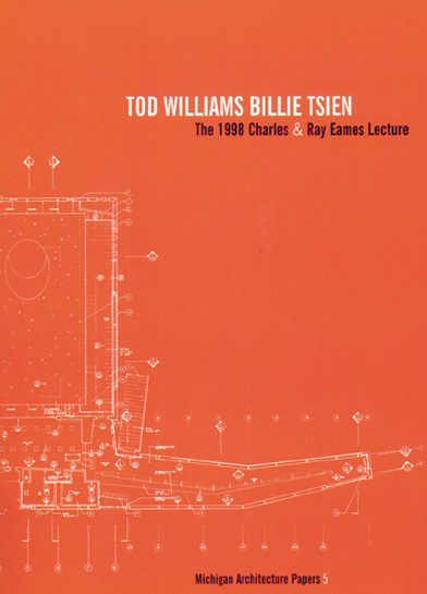 Tod Williams Billie Tsien - Charles & Ray Eames Lecture - MAP 5