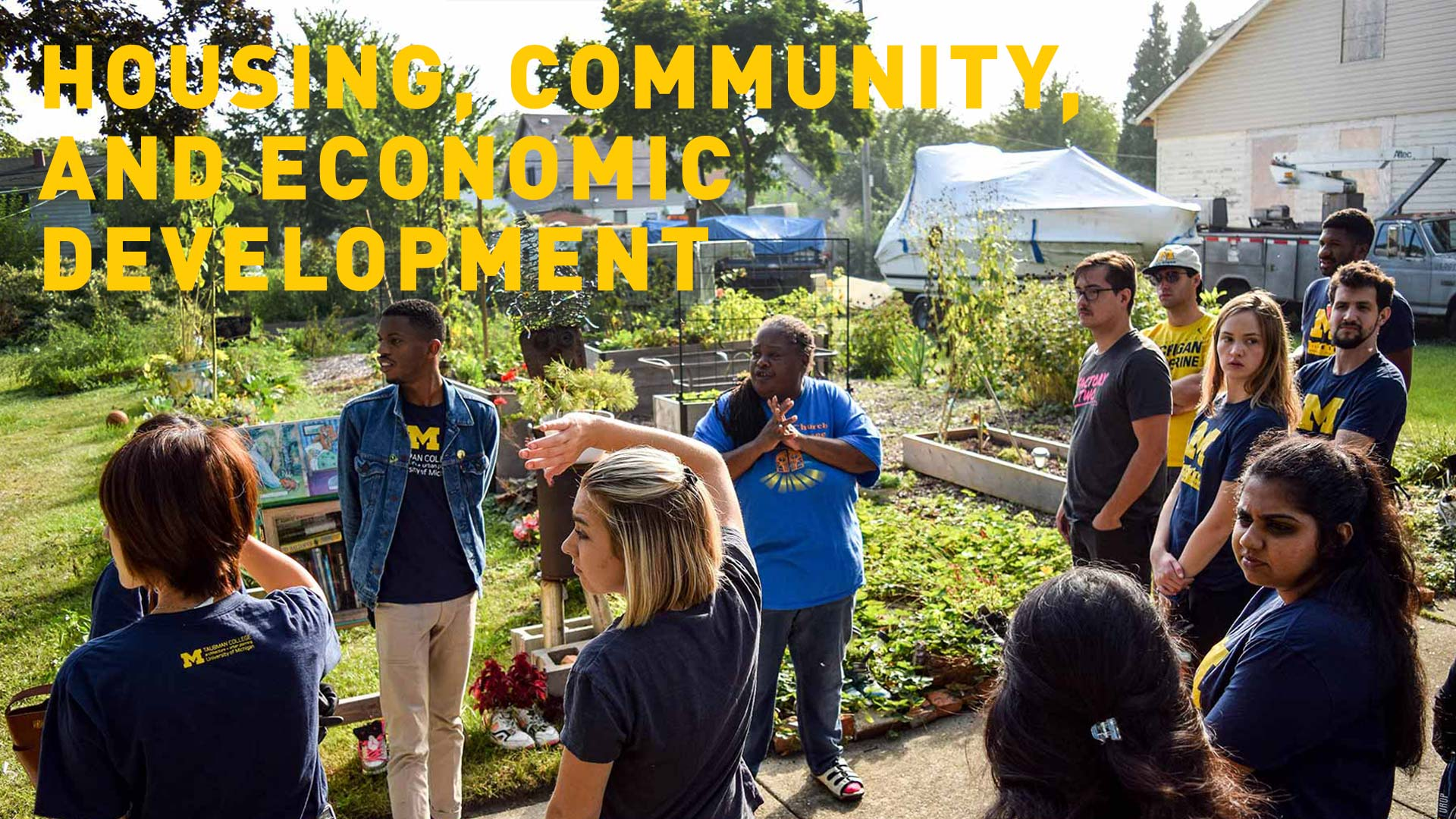 Housing, Community, and Economic Development