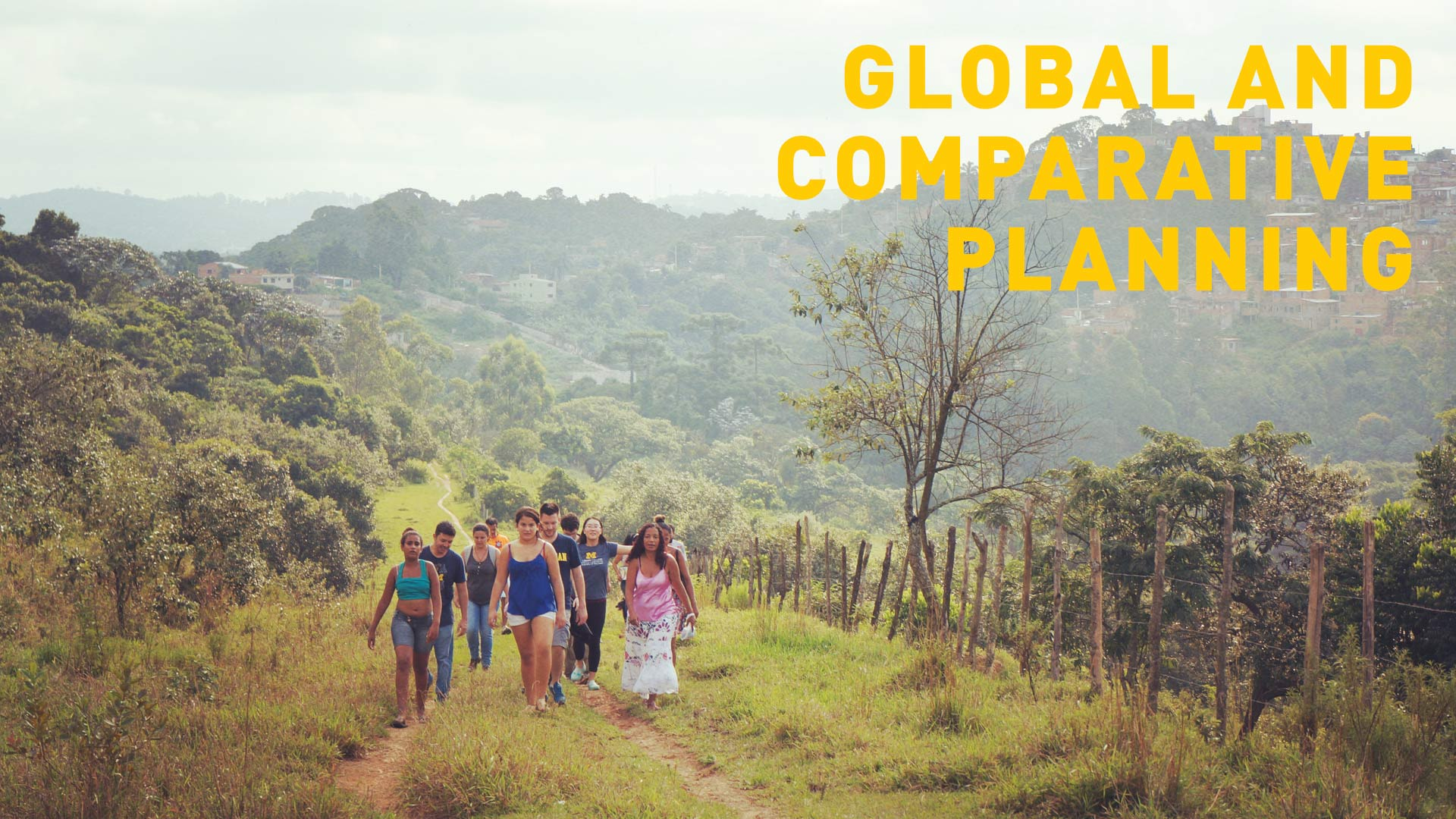 Global and Comparative Planning