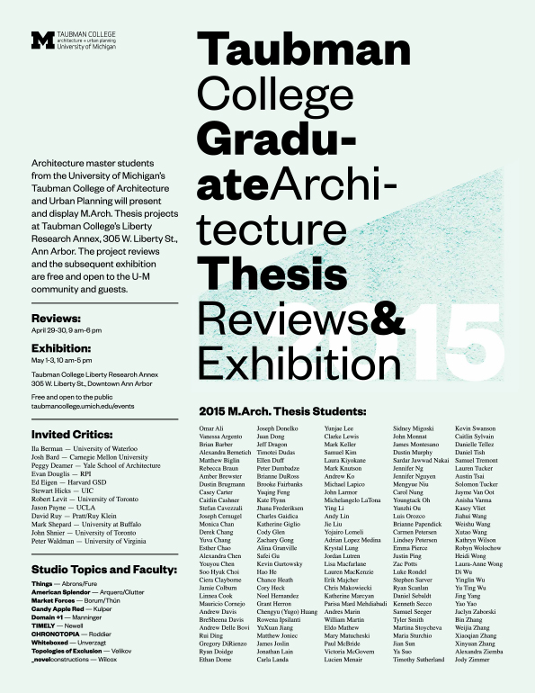 Thesis Review