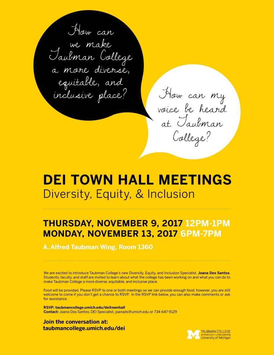 Diversity, Equity, and Inclusion Town Hall meeting