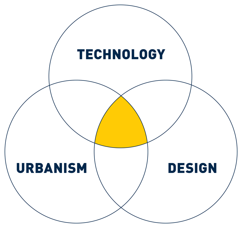 Urban Technology is an emerging field at the intersection of technology, urbanism, and design