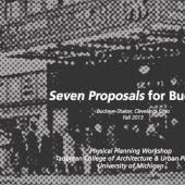 Seven Proposals for Buckeye
