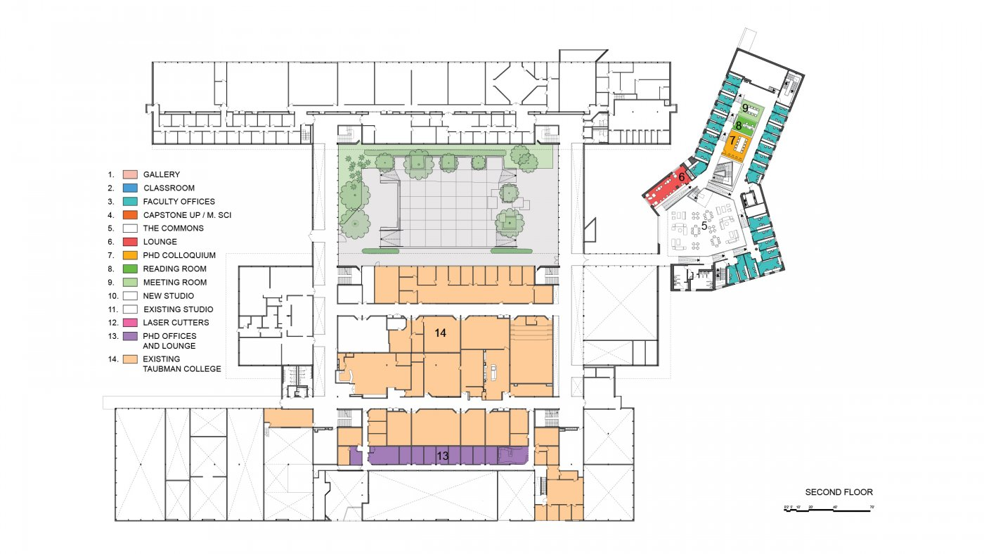 Taubman college building renovation and expansion ccuart Choice Image