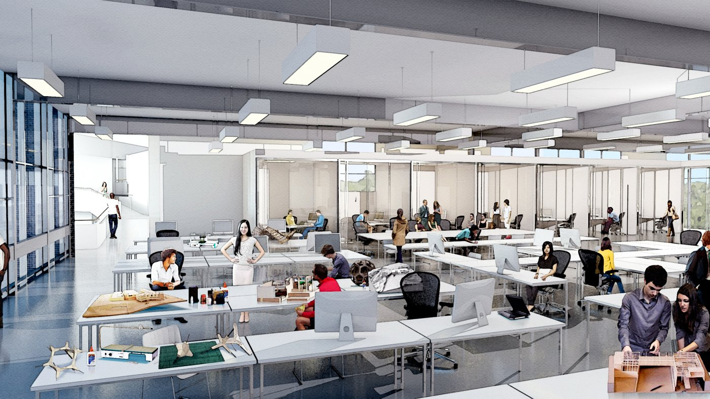 Taubman college building renovation and expansion - College of design construction and planning ...