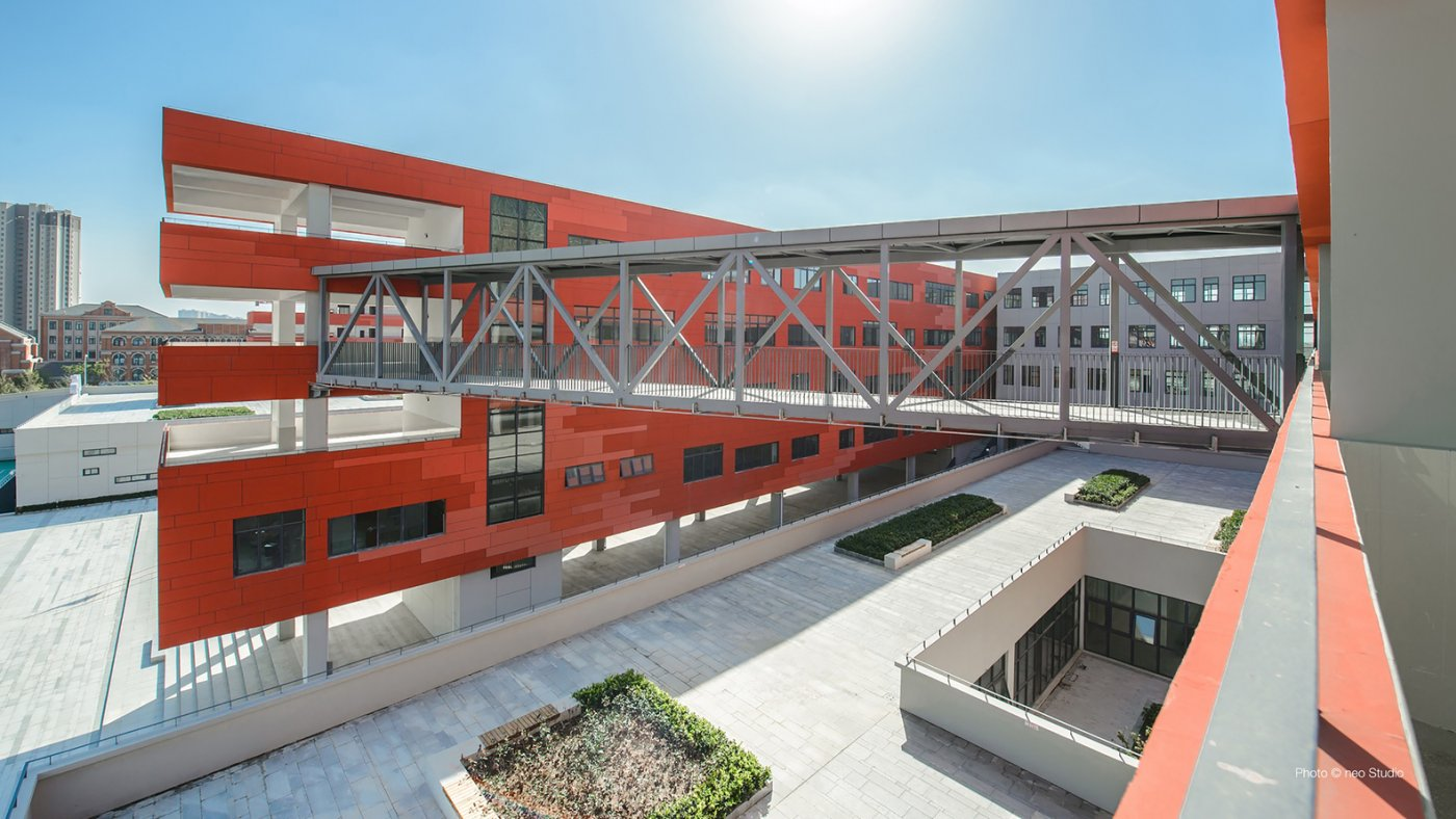 Graebner And Hansen Design Middle School In Hefei, China For 2,400 Students