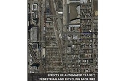Effects of Automated Transit, Pedestrian, and Bicycling Facilities on Urban Travel Patterns