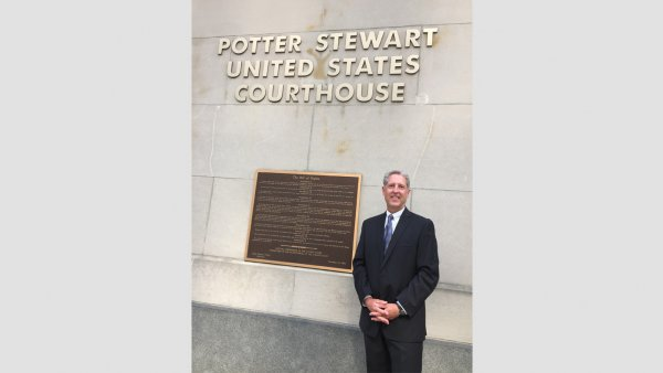 Richard Norton standing in front of the Sixth Circuit Court of Appeals